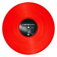 Native Instruments Traktor Scratch Control Vinyl MK2 rood