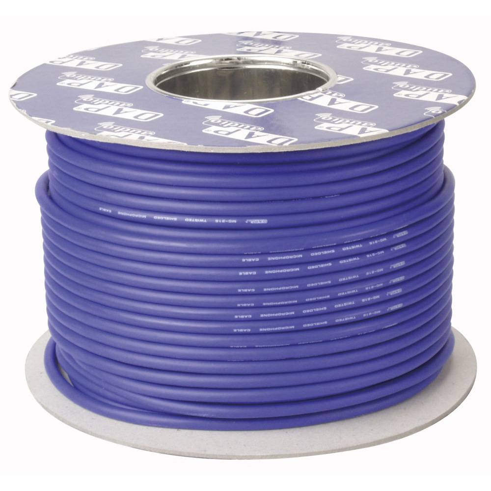 Image of DAP DIG-110 AES-EBU 110 Ohm digitale kabel blauw 100m