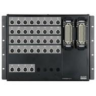 DAP Stagebox 32 in en 4 uit naar 2x 108p ILME