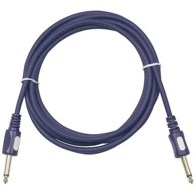 DAP STAGE-GIG Gitaarkabel 6mm 10m rechte jack connectors