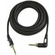 DAP STAGE-GIG Gitaarkabel 6mm 10m haakse jack connector