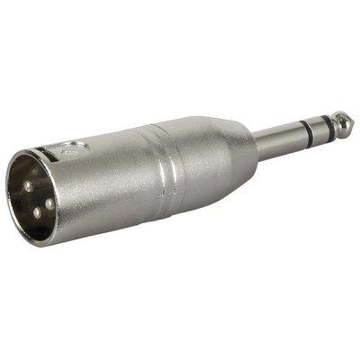 DAP FLA28 XLR male naar Stereo jack male adapter