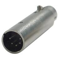 DAP FLA29 XLR 5p naar XLR 3p adapter