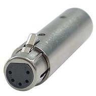 DAP FLA30 XLR 3p naar XLR 5p adapter