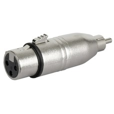 DAP FLA31 XLR female naar RCA male adapter
