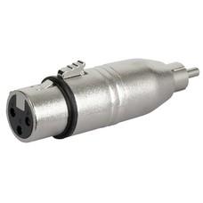 DAP FLA31 XLR female naar RCA male adapter
