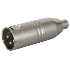 DAP FLA34 XLR male naar RCA female adapter