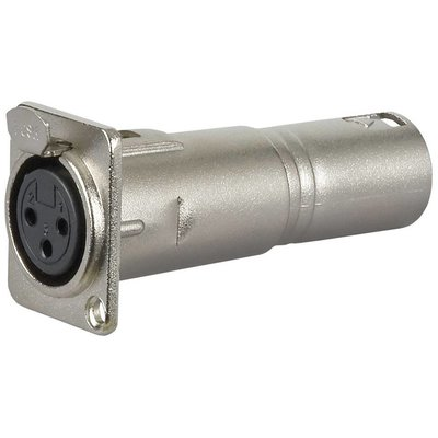DAP FLA50 XLR female doorvoer adapter
