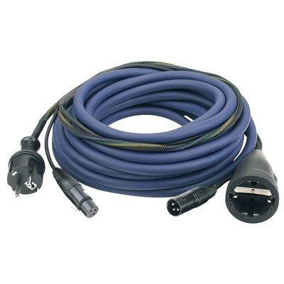 DAP Audio Power & signaal kabel 15m schuko