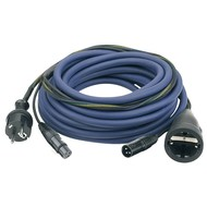 DAP Audio Power & signaal kabel 20m schuko