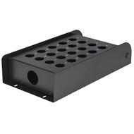 DAP FSB20E lege stagebox 20 gaten zwart