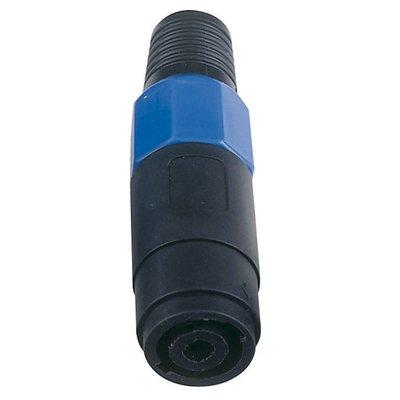DAP 4-polige luidspreker contrastekker