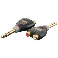 DAP Xcaliber XGA18 Jack stereo male naar 2 x RCA female