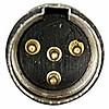 DAP N-CON Mini-XLR 4-polig kabeldeel male