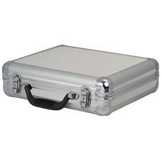 DAP ACA-MIC1 Microfoonkoffer voor 7 microfoons zilver