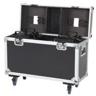 DAP LCA-PHA3 Flightcase voor 2x Showtec Phantom LED25/50