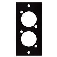 DAP D-size paneel 1 segment 2x D-size