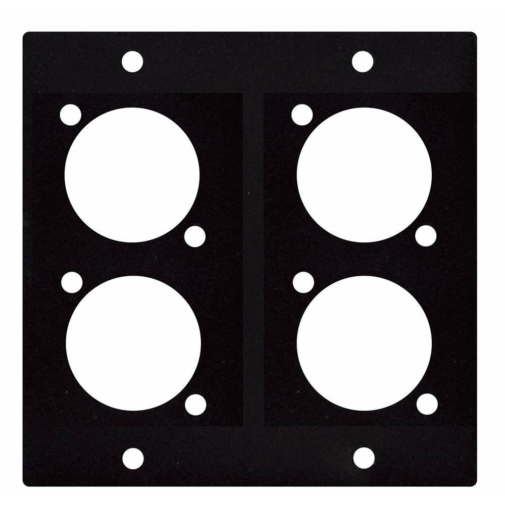 Image of DAP D-size paneel 2 segmenten 4x D-Size