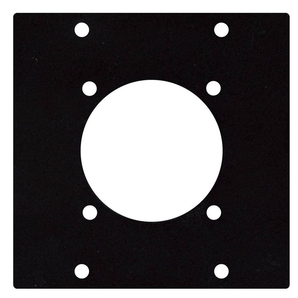 Image of DAP Schuko paneel 2 segmenten