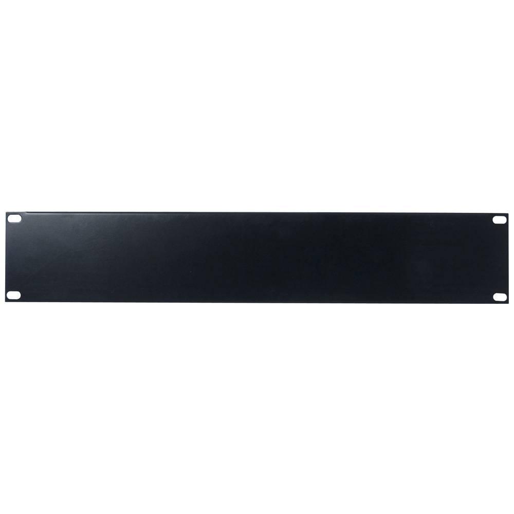 Image of DAP 19 inch blindplaat 2 HE U-vorm zwart