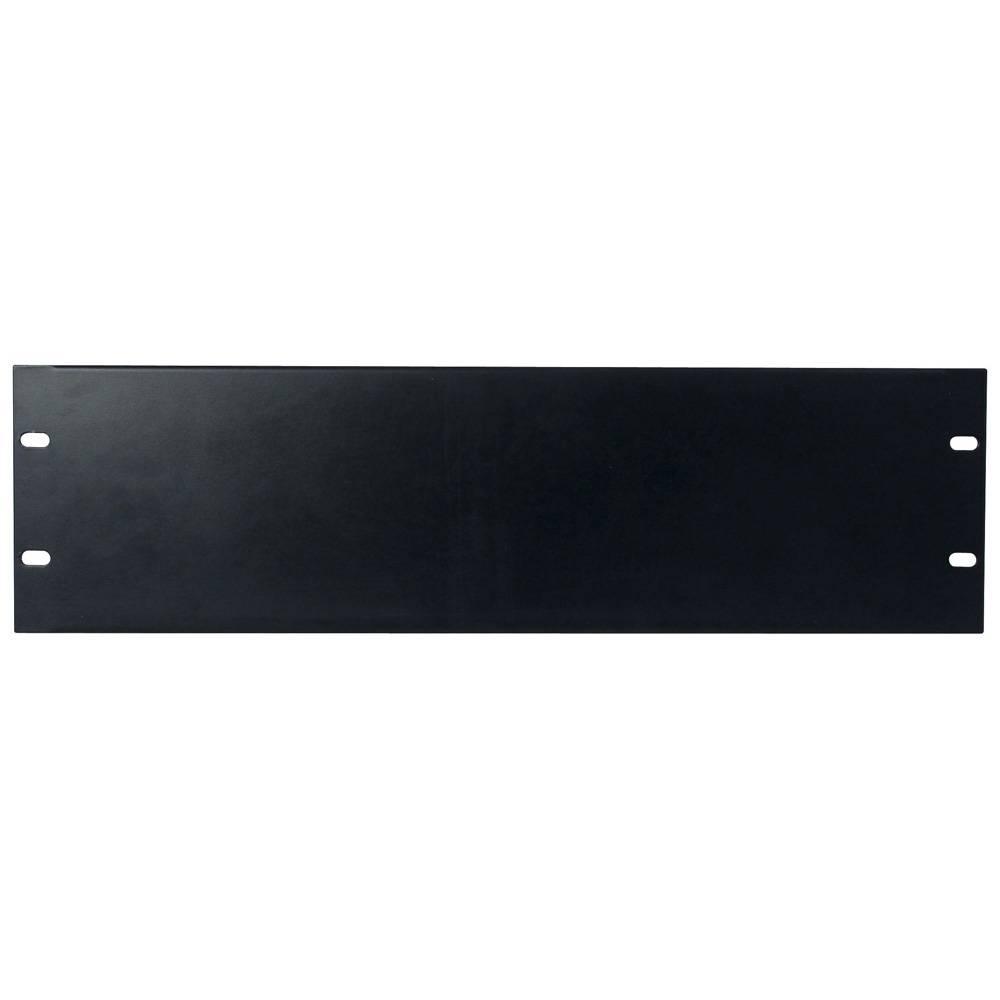 Image of DAP 19 inch blindplaat 3 HE U-vorm zwart