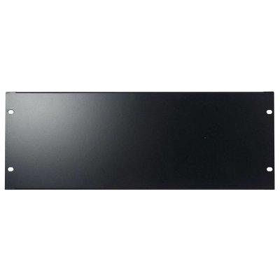 DAP 19 inch blindplaat 4 HE U-vorm zwart