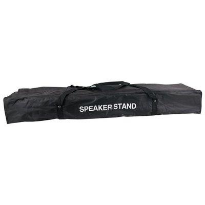 DAP Speakerstatief set met kabels en draagtas (2 stuks)