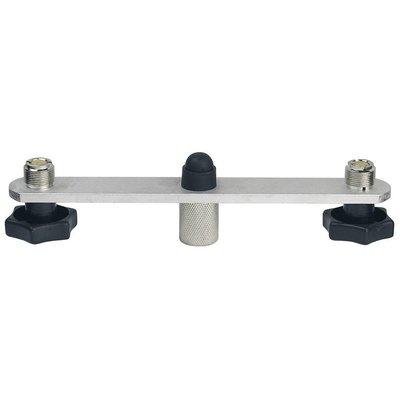 DAP T-bar voor 2 microfoons