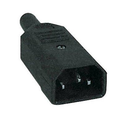 DAP IEC Euro connector male recht