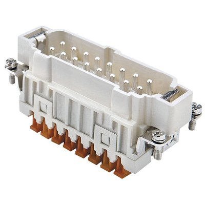 DAP 16p insert male klemverbinding