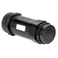 DAP Socapex 19 pins female connector PG29 IP67