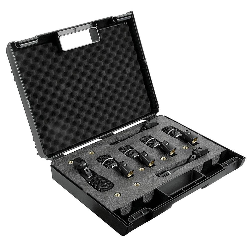 Image of DAP DK-7 Drumset met 7 microfoons