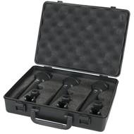 DAP PDM-Pack set met 3 microfoons