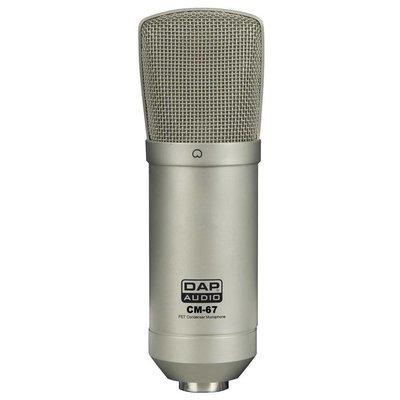 DAP CM-67 Studio FET condensator microfoon
