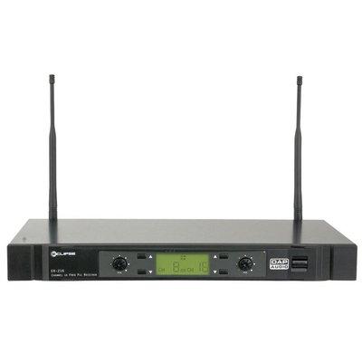 DAP ER-216B Draadloze microfoon ontvanger 614-638MHz