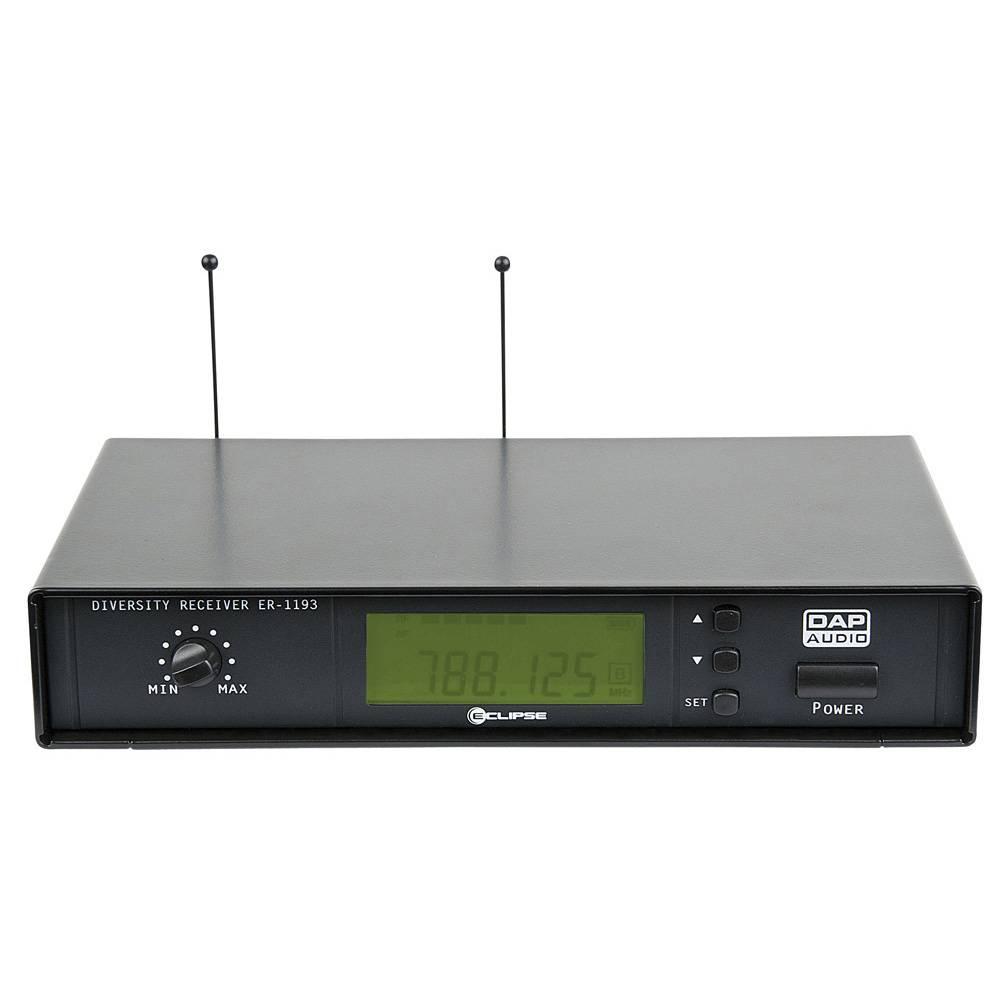 Image of DAP ER-1193B Draadloze microfoon ontvanger 614-638MHz