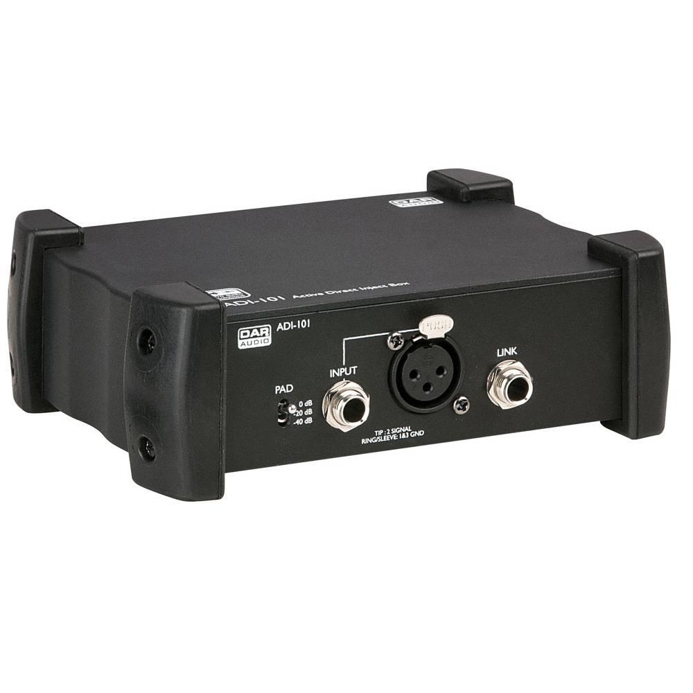 Image of DAP ADI-101 Actieve DI-box