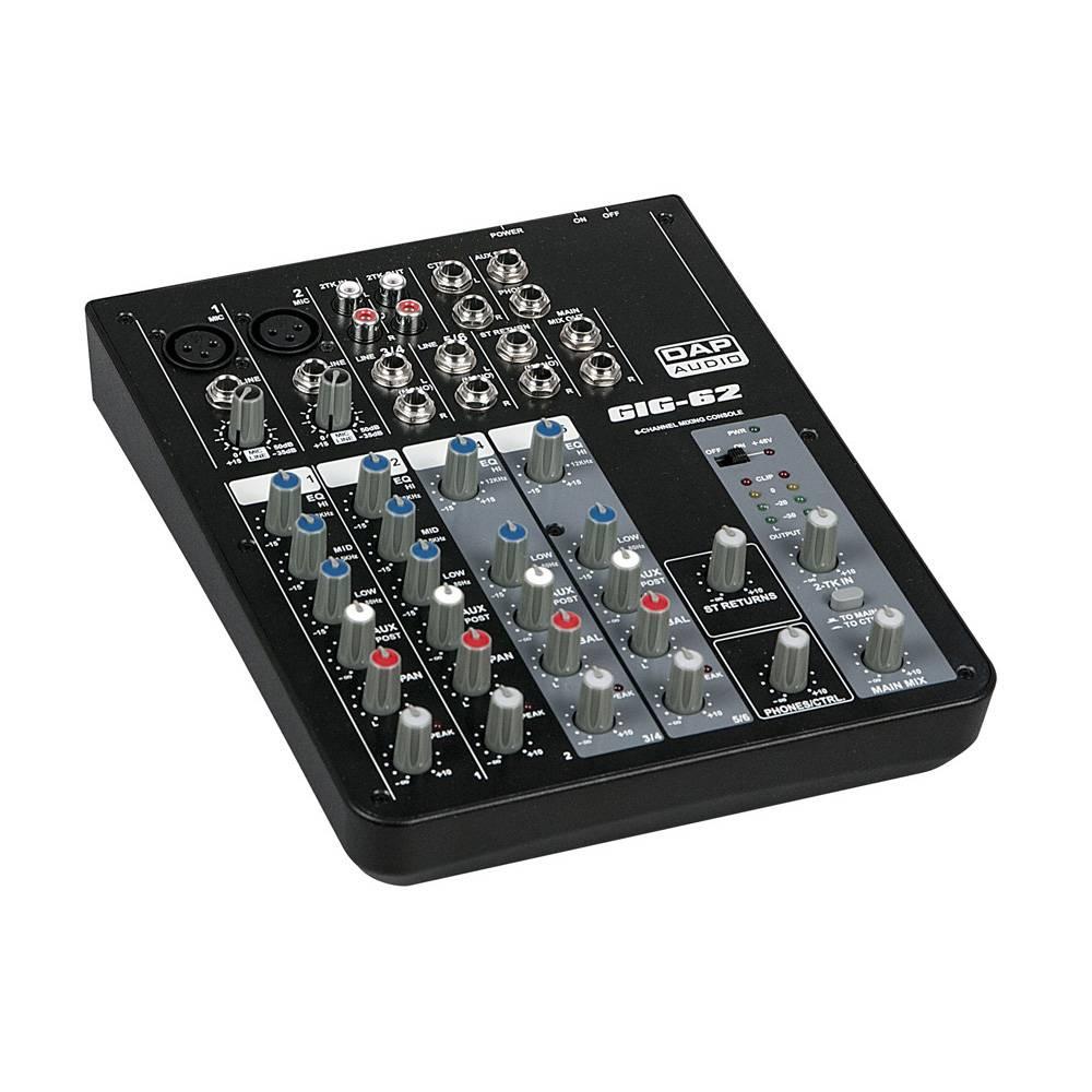 Image of DAP GIG-62 6-kanaal live mixer
