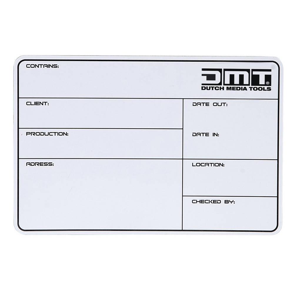 Image of DMT Flightcase Label 113x170mm zelfklevend