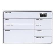 DAP Flightcase Label 113x170mm zelfklevend