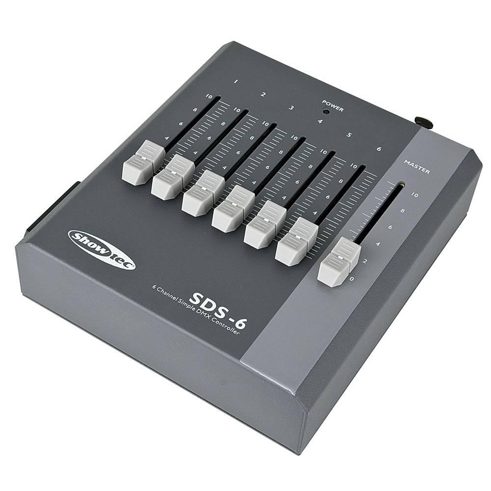 Image of Showtec SDS-6 6-Kanaals DMX controller