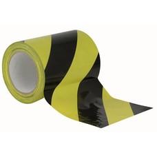 Showtec Vloer-markeringstape 150mm zwart-geel