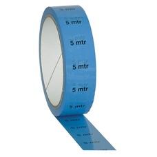 Showtec PVC markeringstape 5m indicatie blauw
