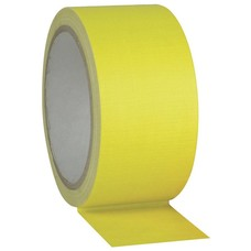 Showtec Gaffa tape Neon 50mm 25m geel