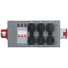 Showtec Split Power 16 krachtstroomverdeler 16A/5P