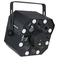 Showtec Dominator LED laser en strobo lichteffect