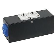 Showtec Powerport 3 verdeler Powercon in naar 3 Powercon uit