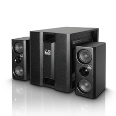 LD Systems Dave 8XS actief multimedia systeem zwart