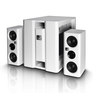 LD Systems Dave 8XS actief multimedia systeem wit