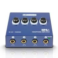 LD Systems HPA4 4-kanaals hoofdtelefoonversterker